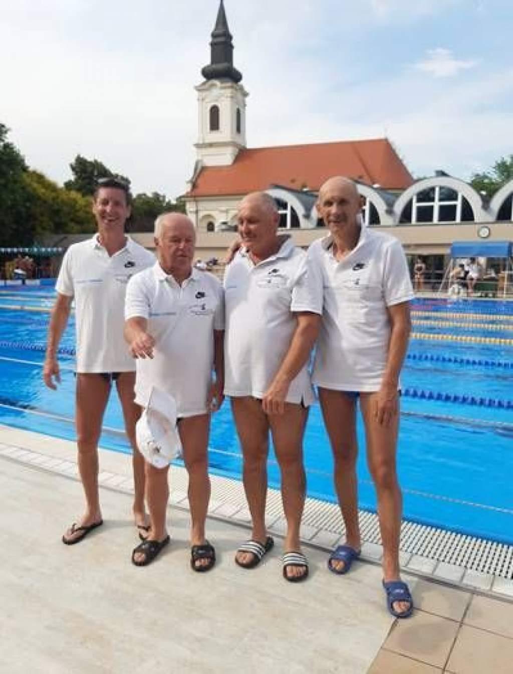 Gyulán rendezték meg az Országos Szenior Úszóbajnokságot