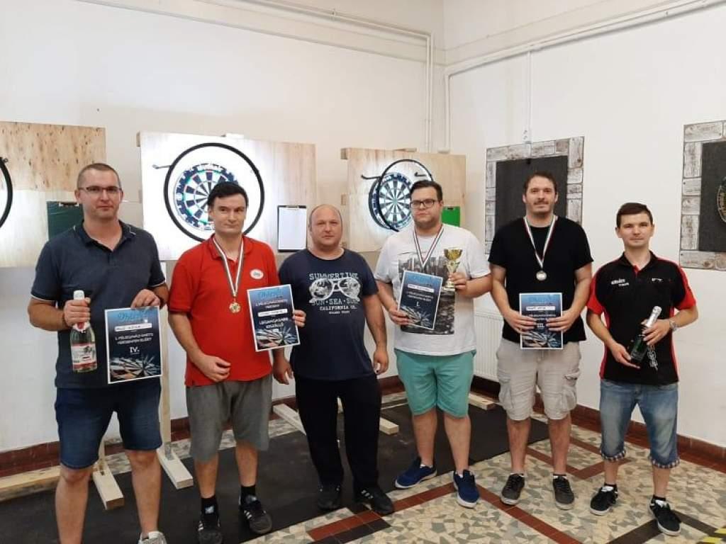 Sikerrel zárult az első félegyházi dartsverseny