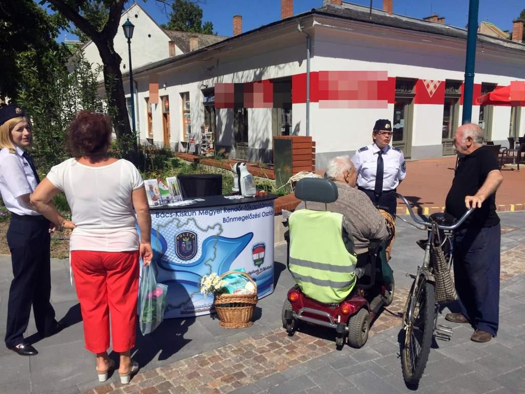 Kiskunfélegyházára érkezett a Police Coffee