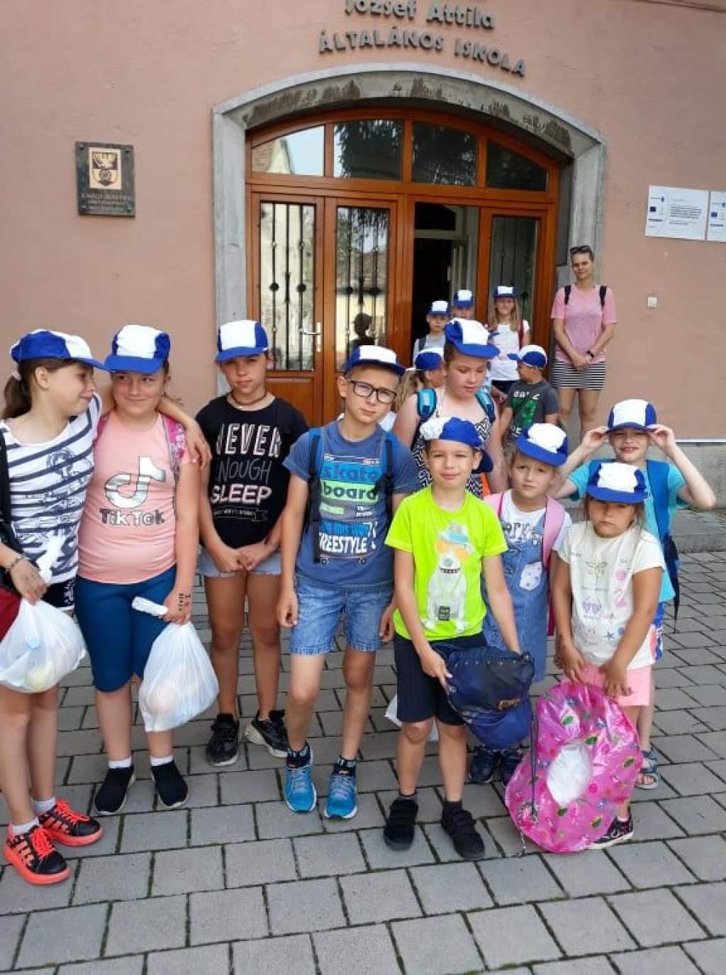 Erzsébet-tábor a Kiskunfélegyházi József Attila Általános Iskolában