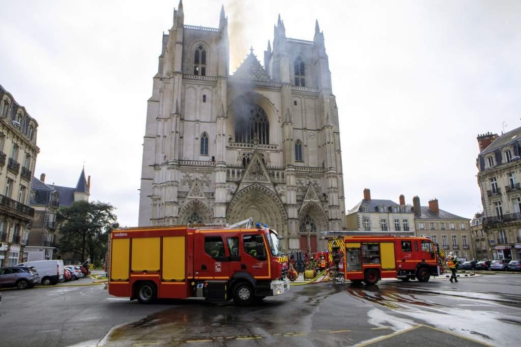 Felgyújthatták a Nantes-i katedrálist