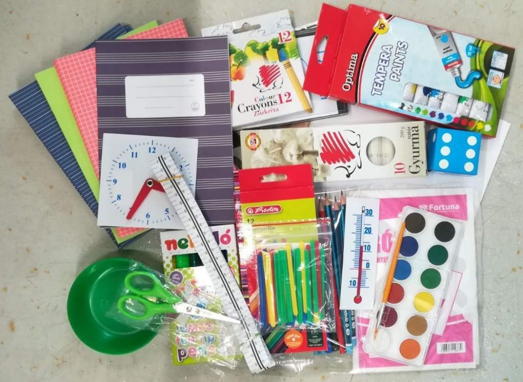 Iskolakezdési adománygyűjtés