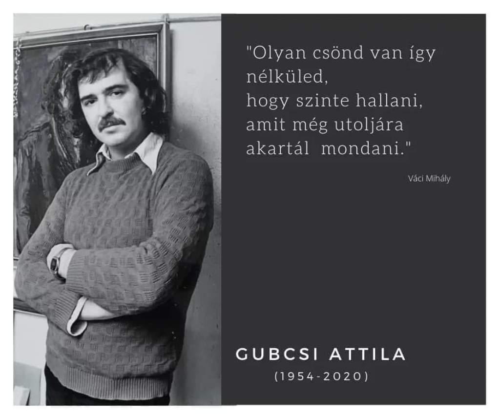 Kecskeméten vettek végső búcsút Gubcsi Attila festőművésztől