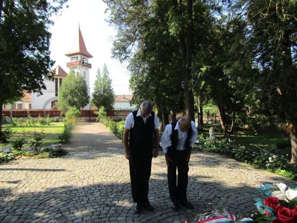 Segesváron és Fehéregyházán is megemlékeztek Petőfi Sándorról