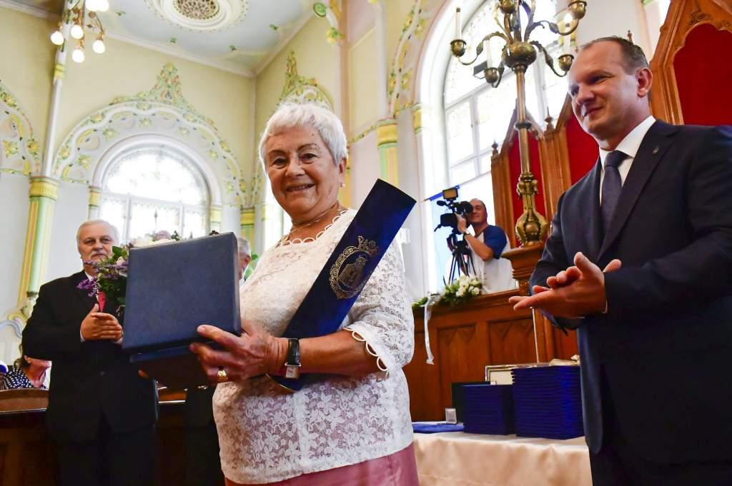 Ünnepi testületi ülésen adták át a város kitüntető díjait - videóval