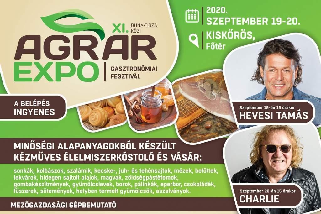 XI. Duna-Tisza-közi Agrár Expo Kiskőrösön