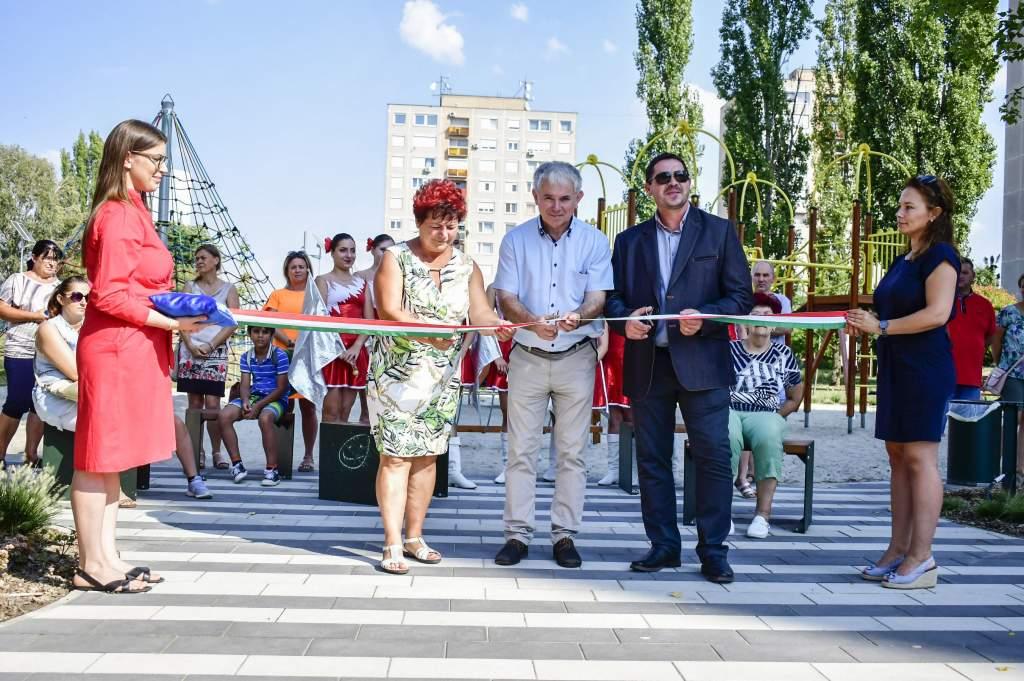 Új minőséget kap a szabadidő eltöltése a Petőfi-lakótelepen
