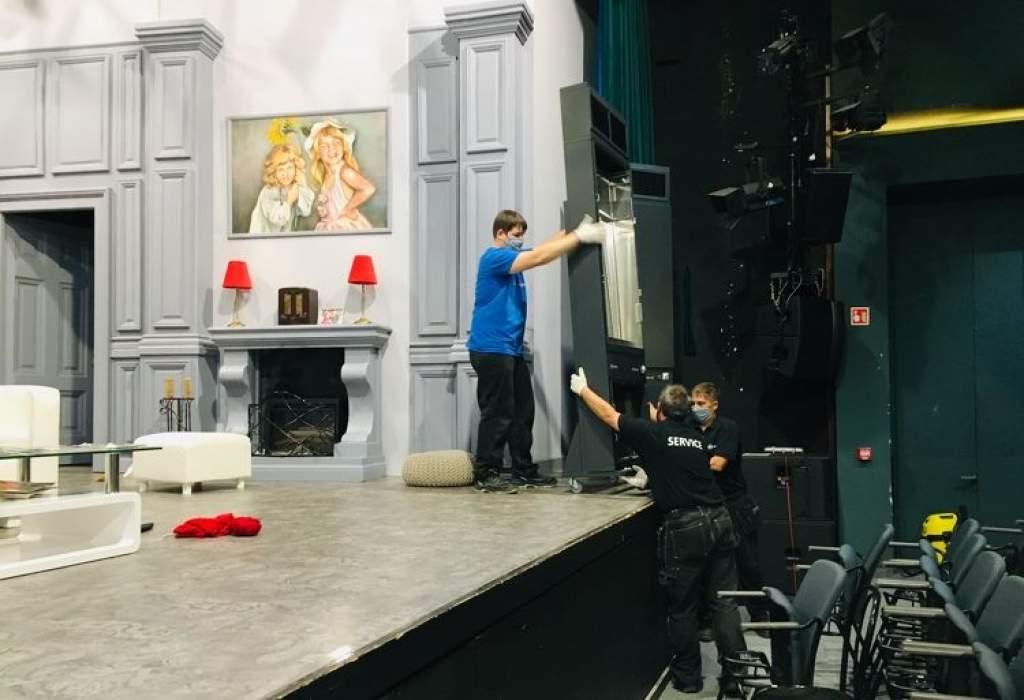 Vírusmentes színházi előadások