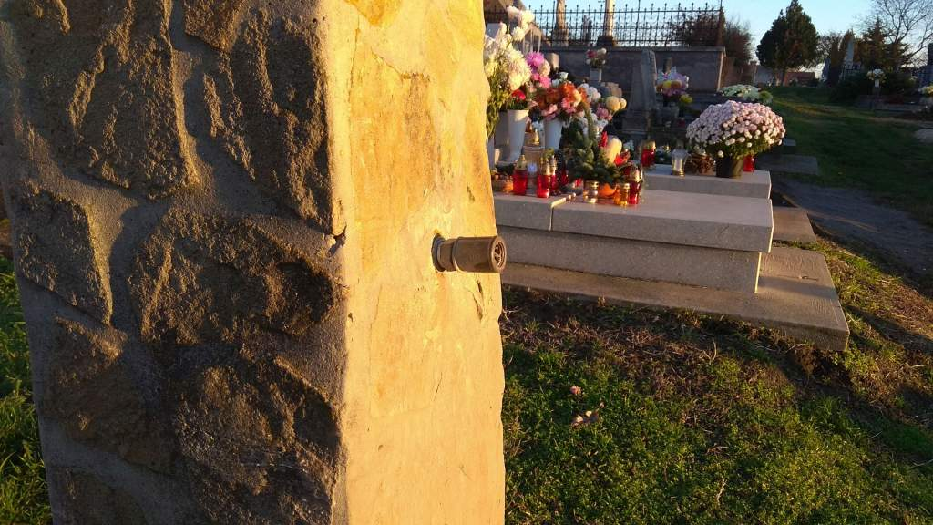 Leszerelték a temetői csapokat