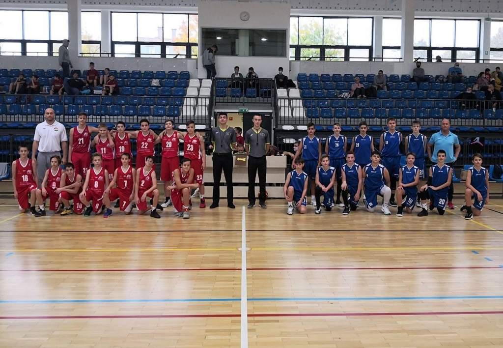 Országos főtáblára jutott a serdülő fiú kosárlabdacsapat