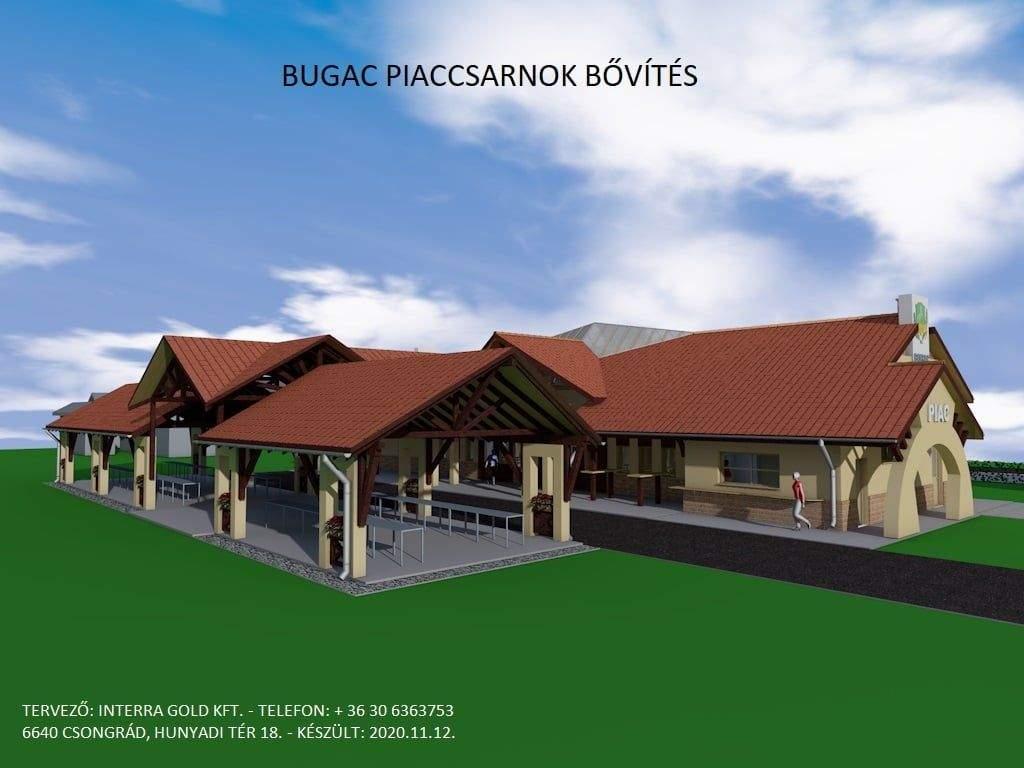 A piac fejlesztésére pályázik a bugaci önkormányzat