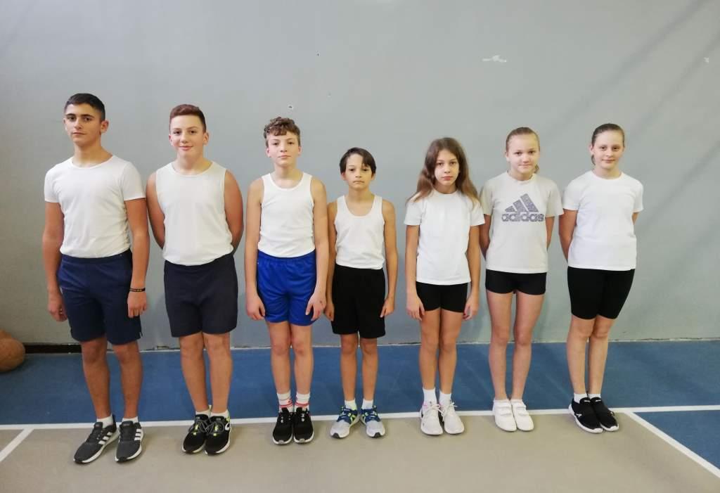 Joggingos fiatal atléták sikere a Sport XXI. Alapprogramban