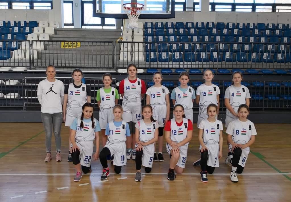 Sokat fejlődött az U12-es leány kosárlabdacsapat