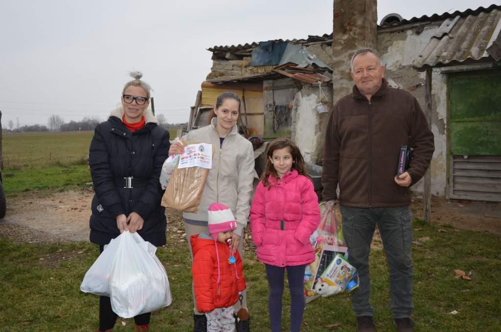 115 háztartásnak jutott az adományokból