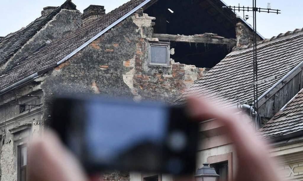 Magyarországon is okozott kárt az erőteljes horvát földrengés