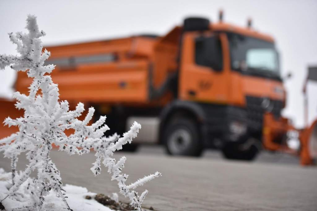 Így dolgoznak télen a Magyar Közútnál– videóval