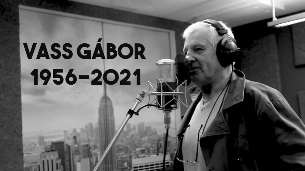 Elhunyt Vass Gábor színművész