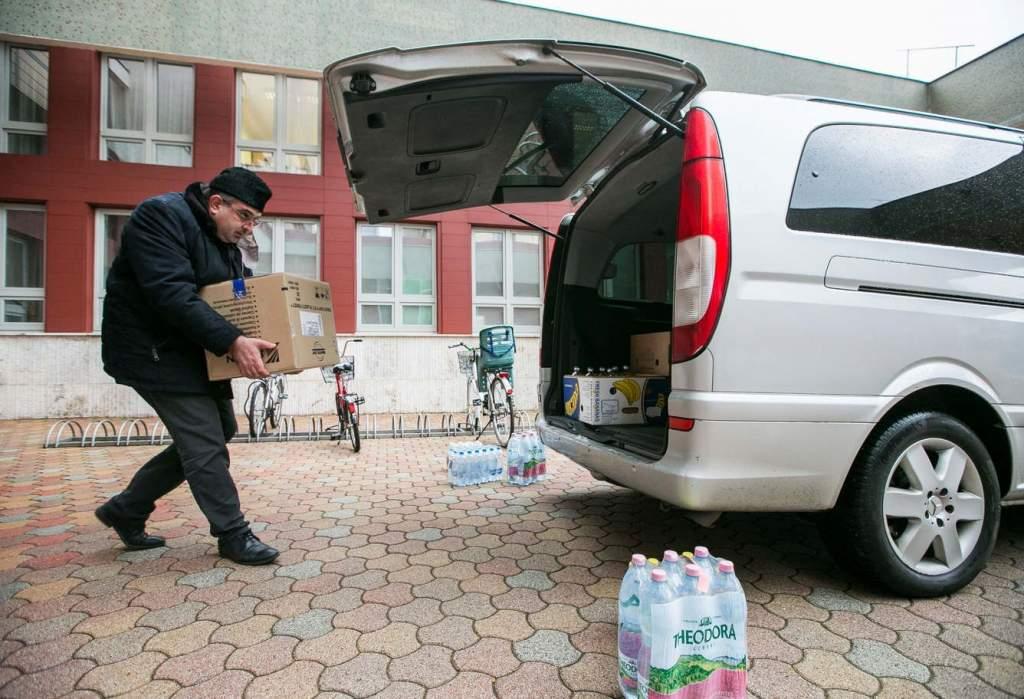 A földrengés károsultjainak gyűjtöttek adományokat a megyében