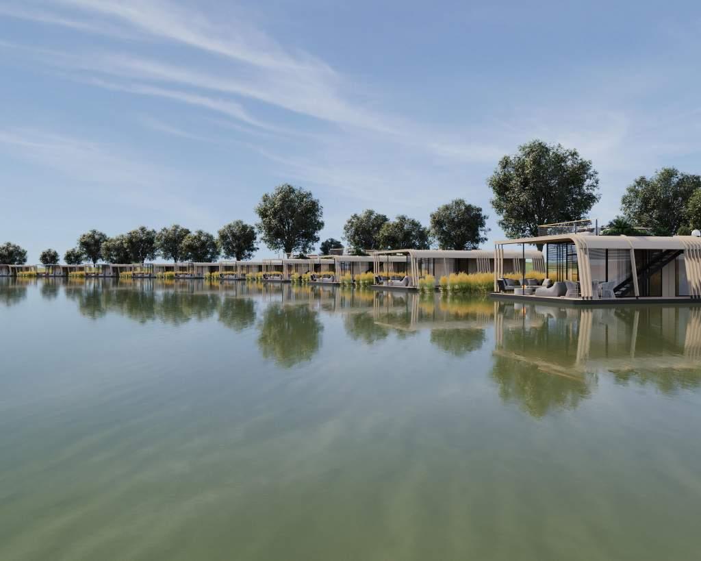 Abádszalókon épül Magyarország első úszófaluja