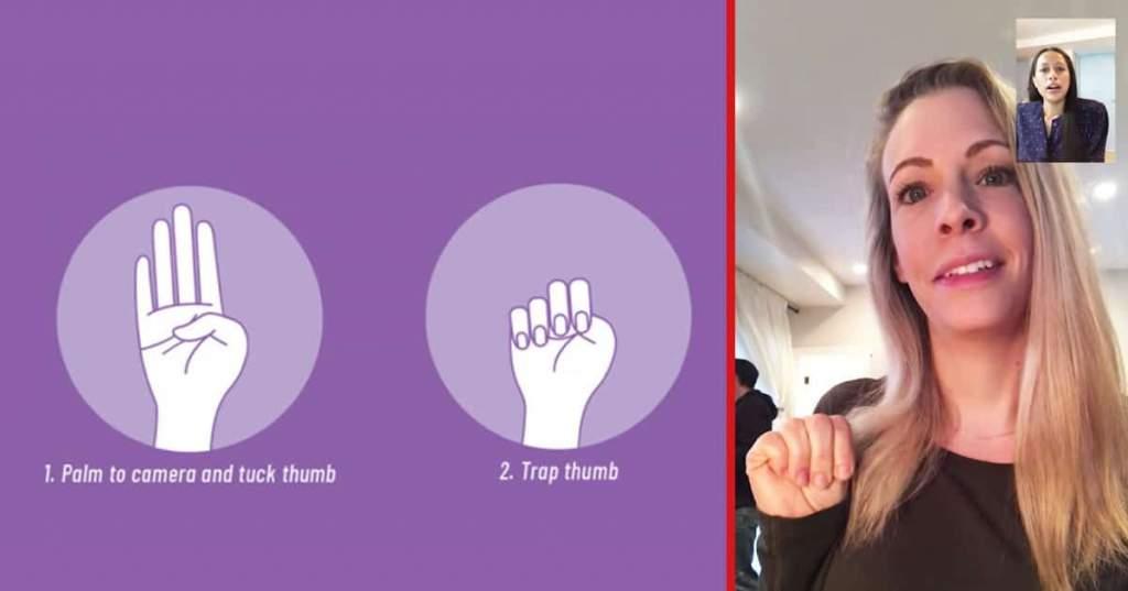 A kézjel, amely életeket menthet