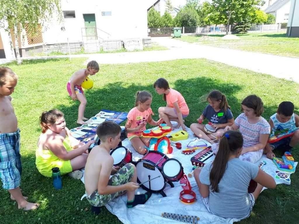 Kids Party aktív foglalkoztató tábor
