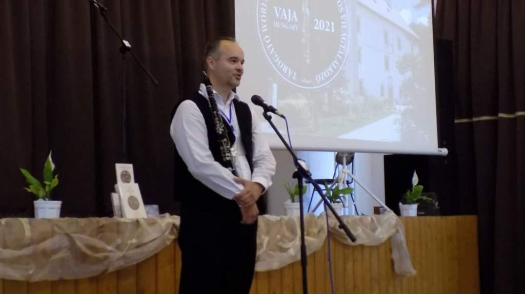 Félegyházát képviselte a Tárogatós Világtalálkozón dr. Tóth Ákos