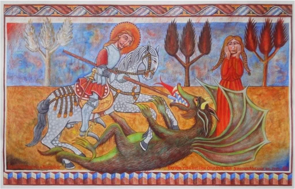 Molnár János: Sárkányölő Szent György