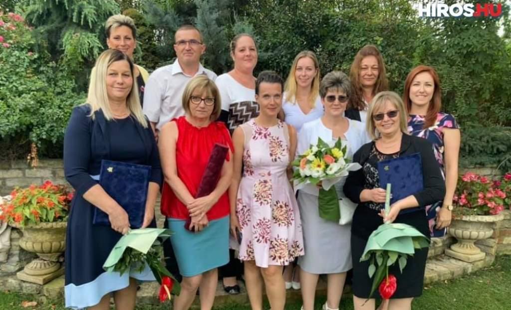 A félegyházi ápolókat is ünnepelte a Bács-Kiskun Megyei Oktatókórház