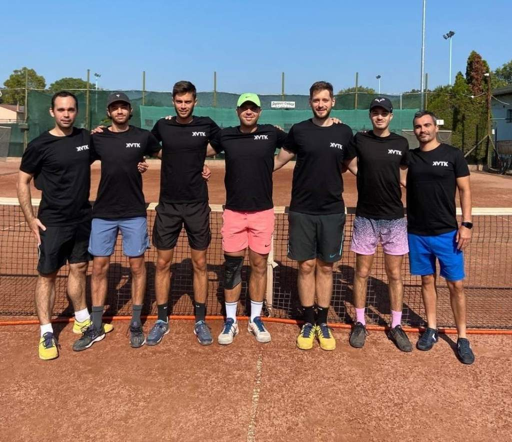 Kizárólag félegyházi nevelésű játékosokkal a tenisz csapatbajnokságban