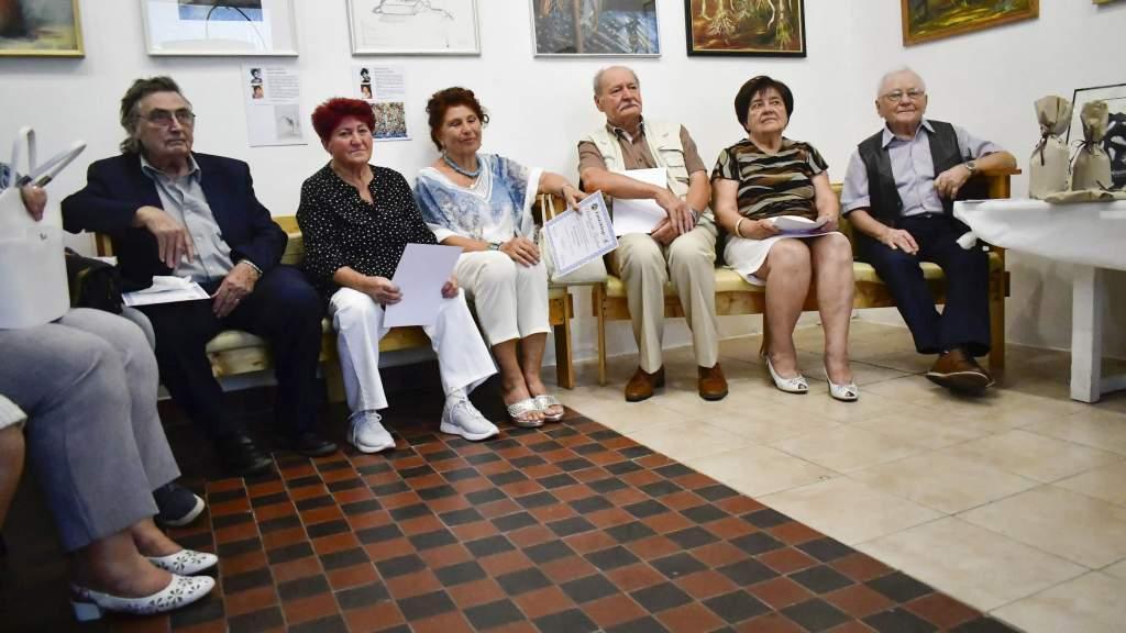 Az alapítókkal ünnepelt a 60 éves Holló-kör