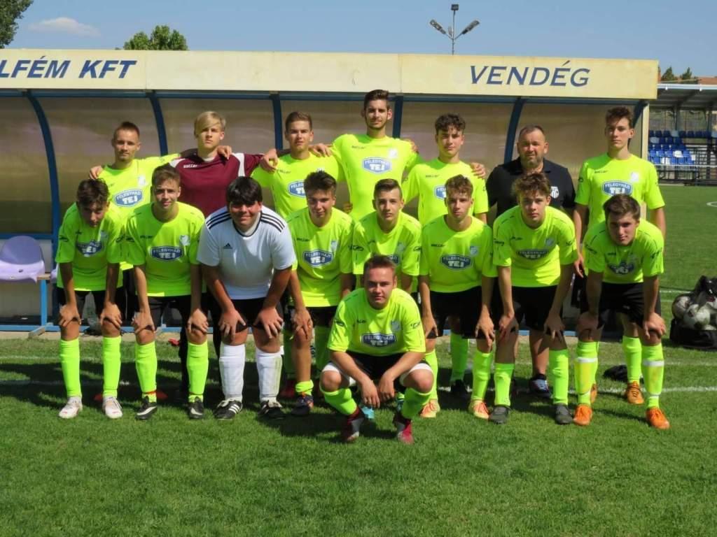 Hazai pályán nyertek az U 19-es focisták