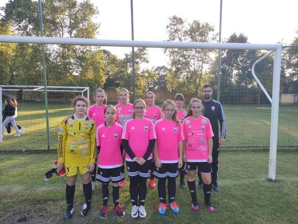 Elkezdődött a megyei U-15-ös leány bajnokság