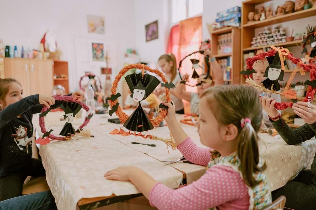 Kultúrsarok – Őszi kézműves napközi a Móra Ferenc Művelődési Központban