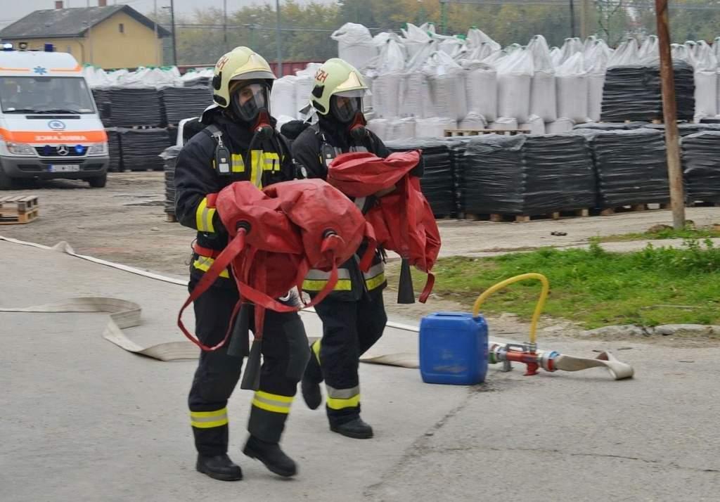 Tájékoztató katasztrófavédelmi gyakorlatról