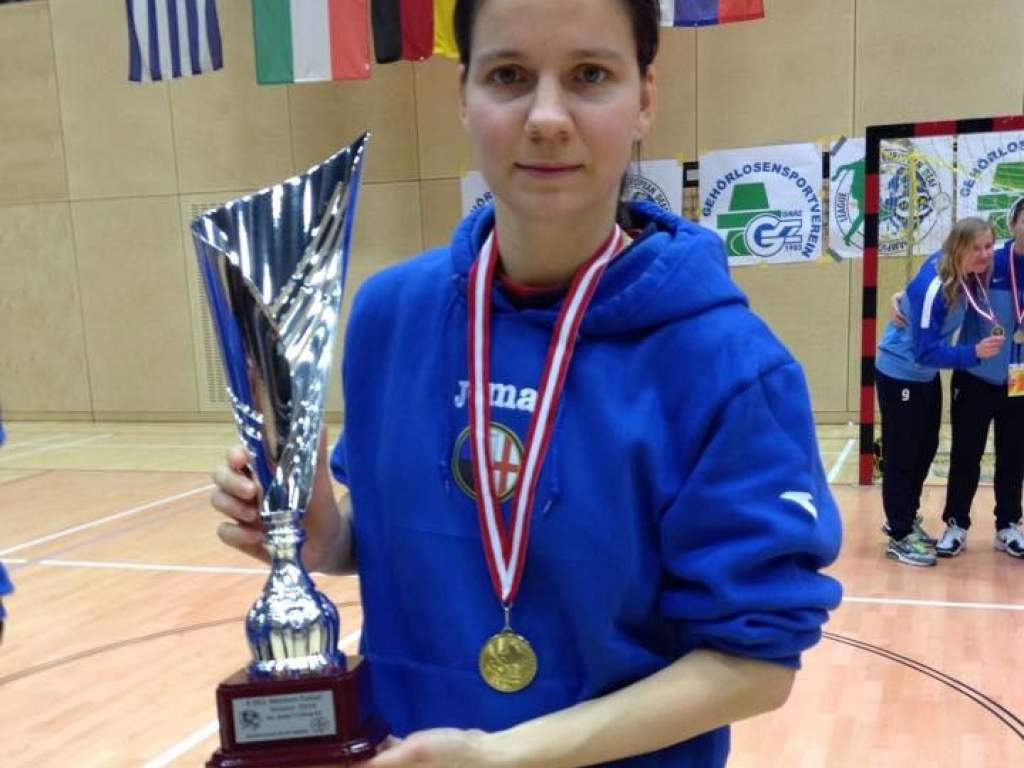 Szabó Nóráék sikere a Hallássérültek Futsal Bajnokok Ligájában