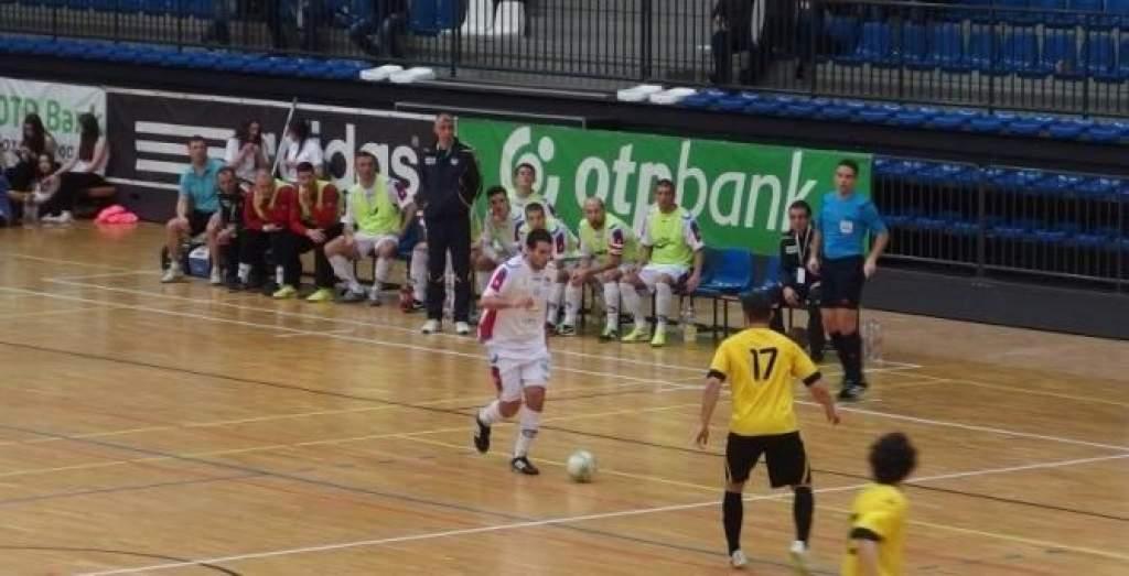 A futsal kupadöntő szervezésére panaszkodott Madarász János, az ezüstérmes veszprémi csapat trénere