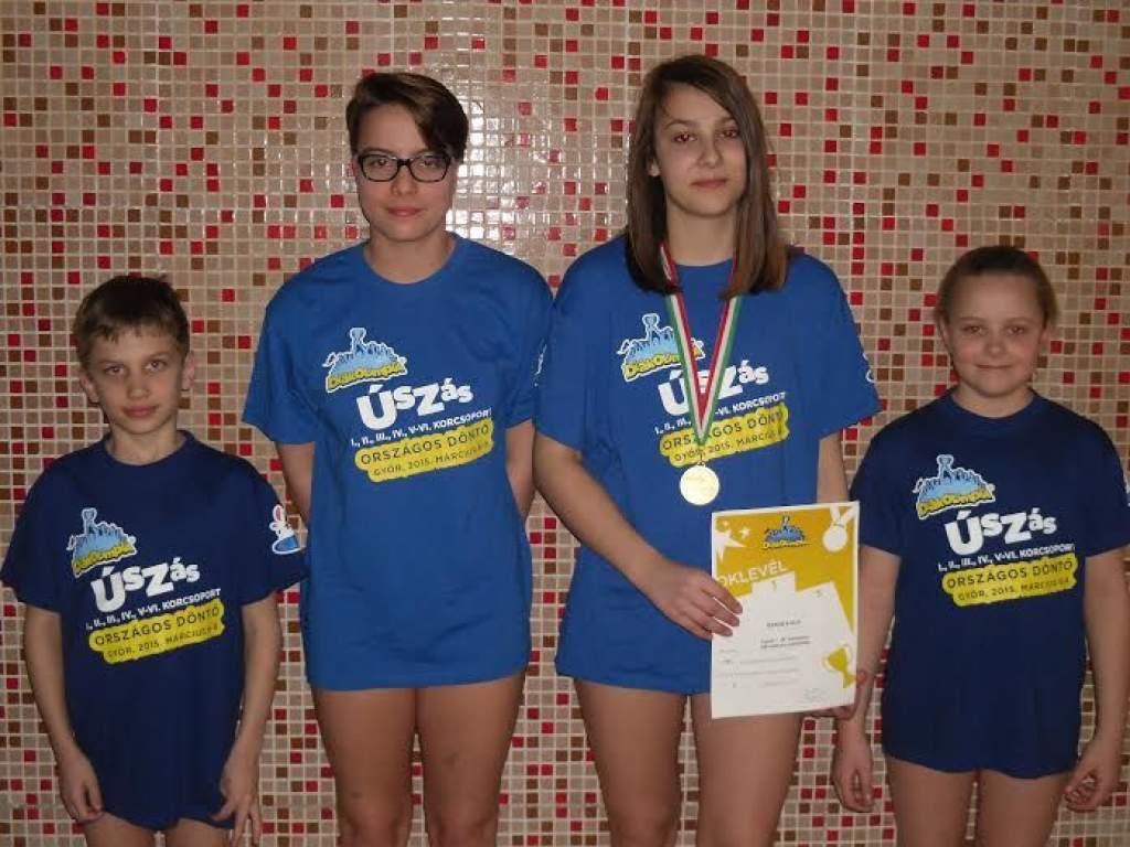 A Kiskunfélegyházi Úszó Egyesület az Országos Diákolimpiai Döntőn