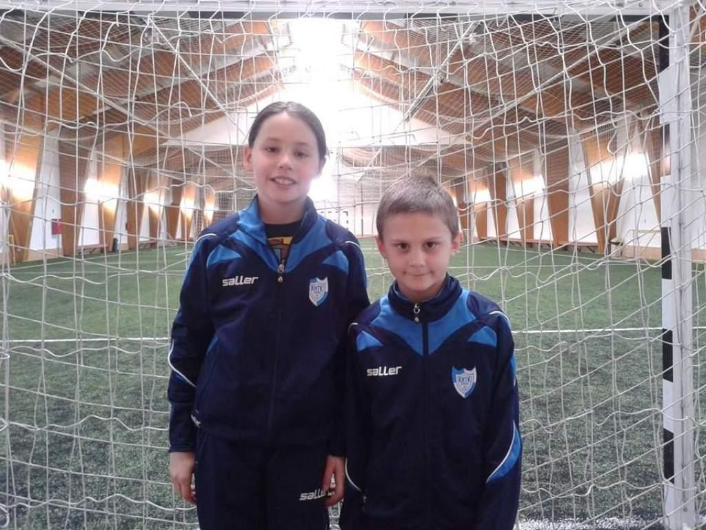 Két fiatal KHTK játékos segített a győzelemben