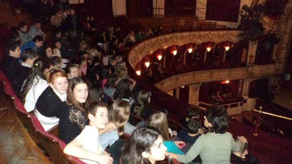 Nagy élmény volt a színház