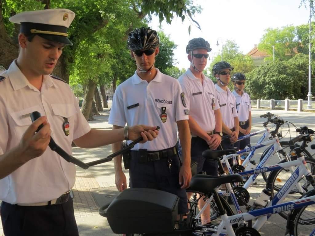 Kerékpáros járőrszolgálat indul Kecskeméten