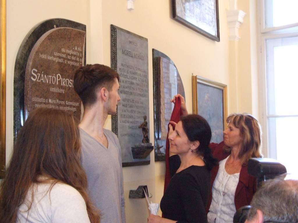 Morell Mihály-emléktáblát avattak a gimnáziumban
