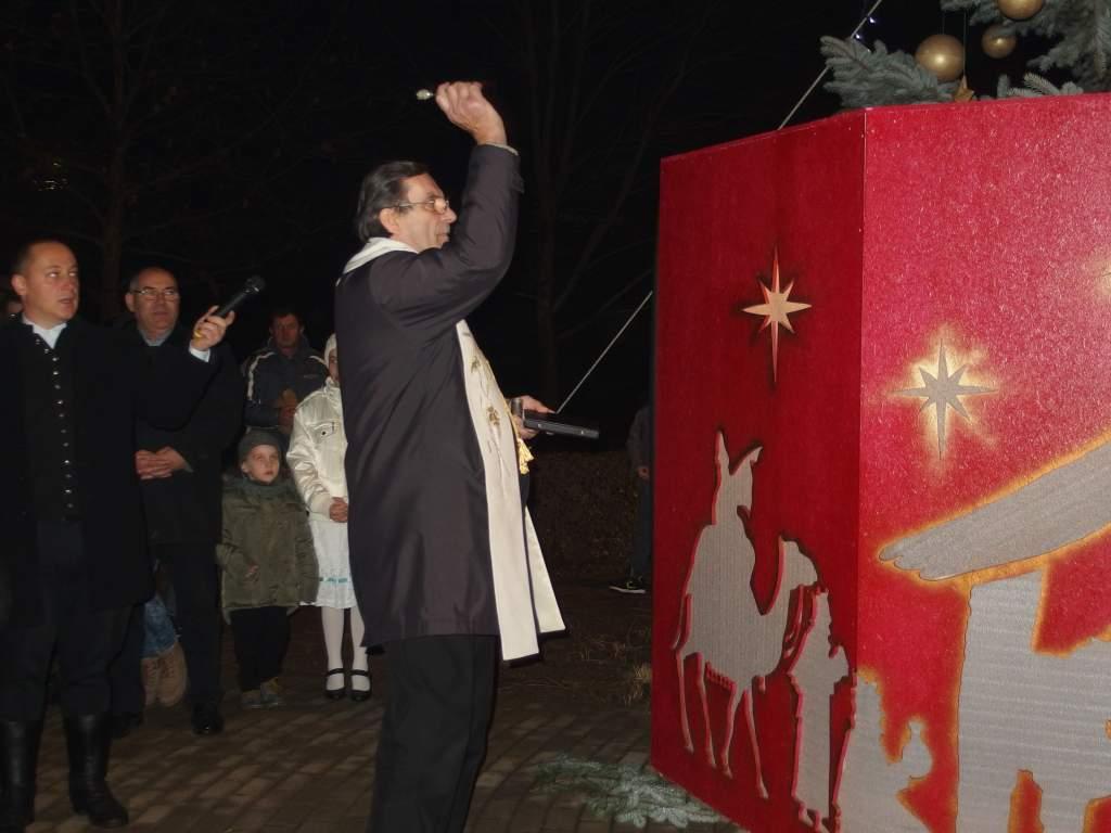 Teltházas karácsonyi ünnepség Kunszálláson