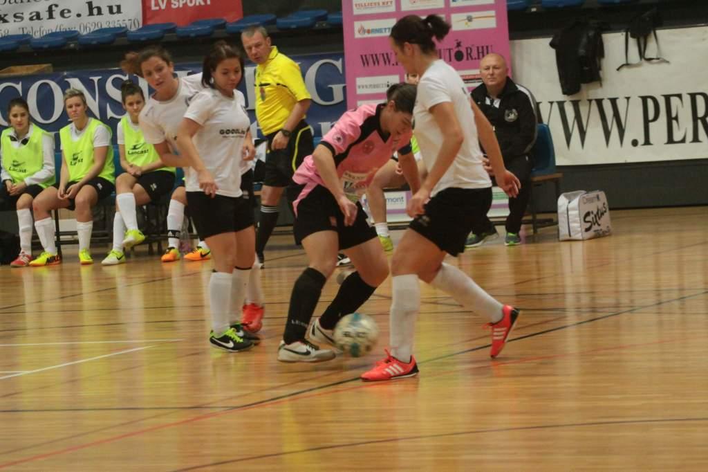 PERSECUTOR Karácsonyi Női Futsal Kupa (2. nap)