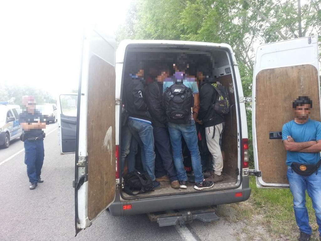 Szíreket akart Ausztriába csempészni