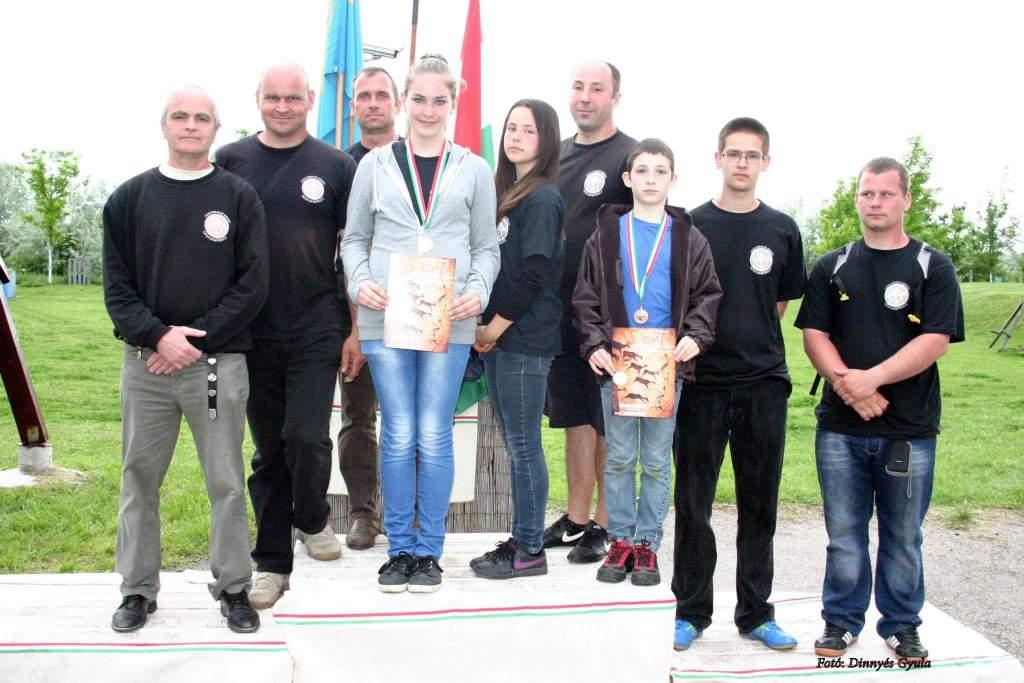 Vadász íjászversenyen szerepeltek a Koppányok