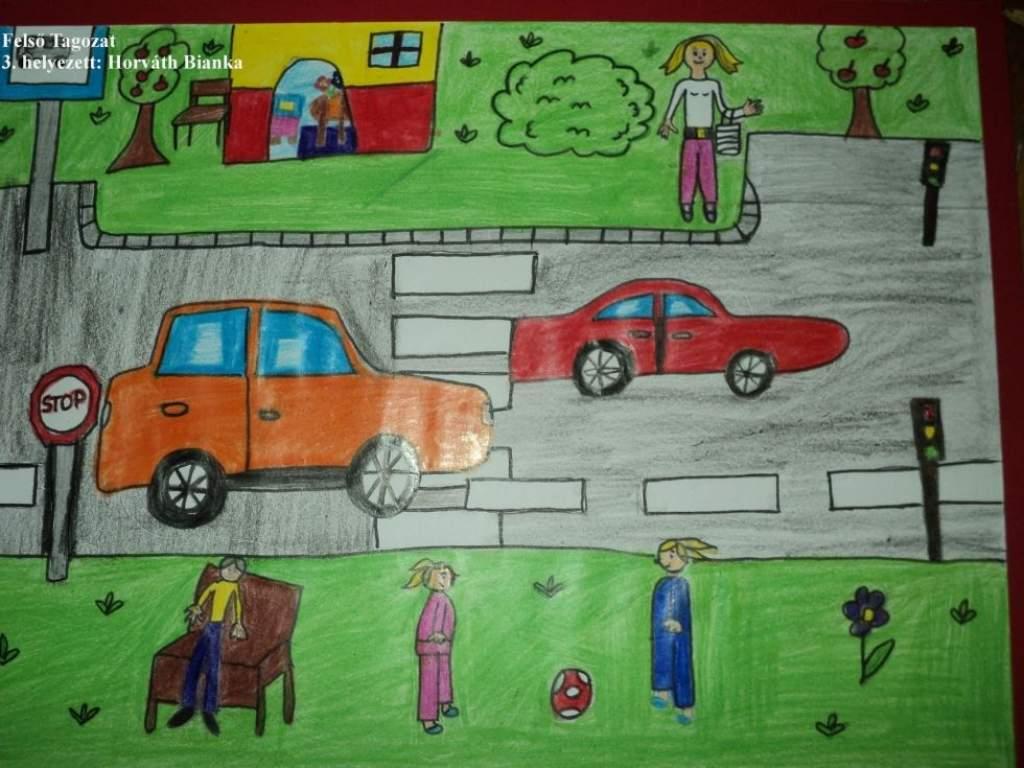 """""""Biztonságos közlekedés gyermekszemmel"""""""