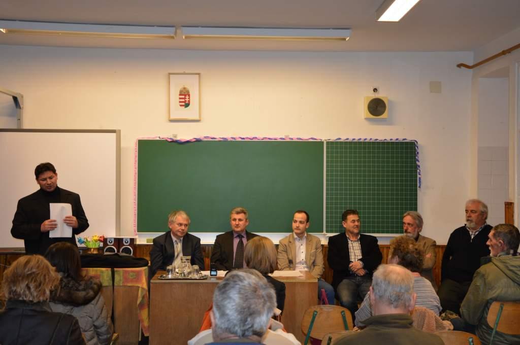 Eredmények és tervek összegzése, problémák megbeszélése a 7. választókerületben