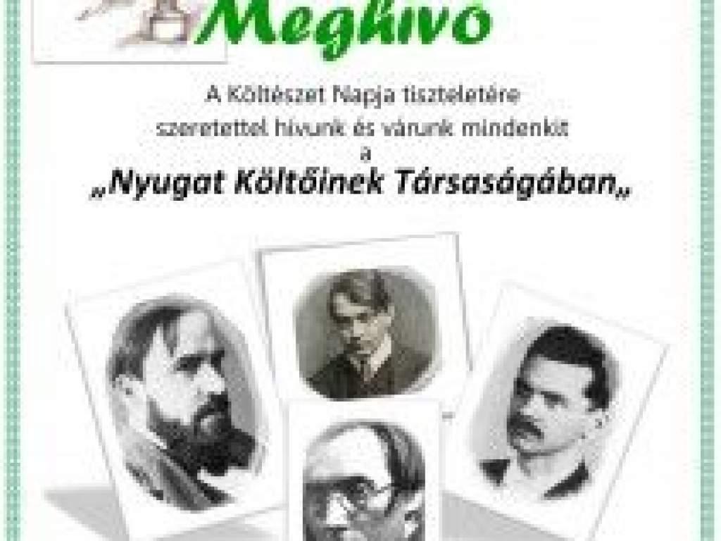 Irodalmi est a Nyugat költőiről