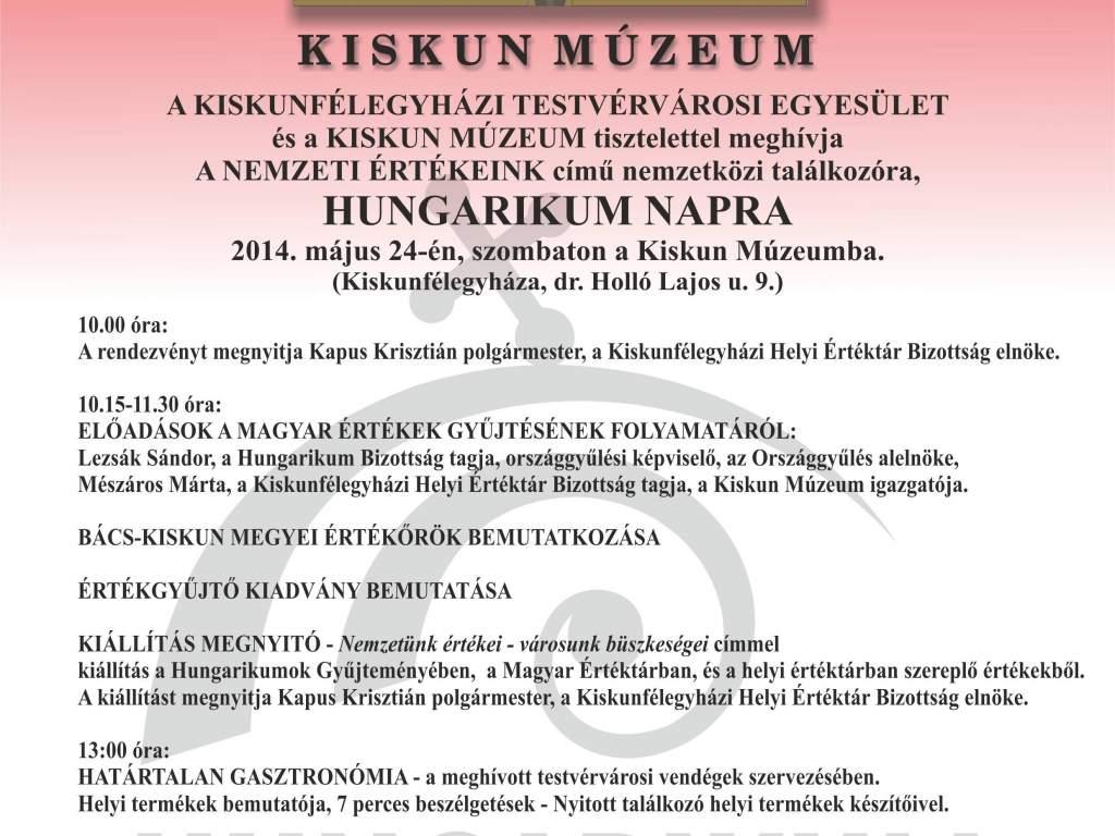 Hungarikum Nap