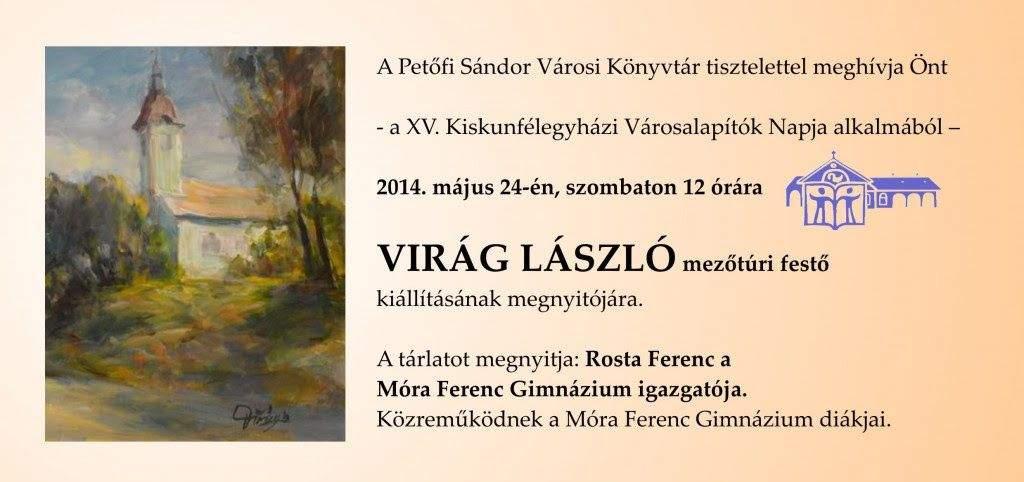 Virág László kiállítása